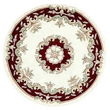 red circle rug red semi circle rug large red circle rug