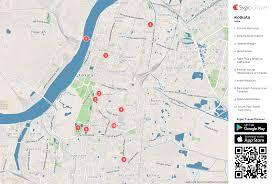 kolkata printable tourist map  sygic travel