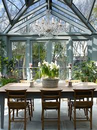 Rustic sunroom decorating ideas Porch Traditional Glass Conservatory Sunroom Forooshinocom Sunroom Design Trends And Tips Freshome
