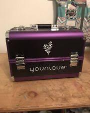 makeup trunk ebay younique selfie trunk purple