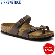 birkenstock birko flor nubuck mayari soft leather mocca colour sandals 100 brand new