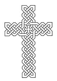 Small Picture celtic cross coloring pages