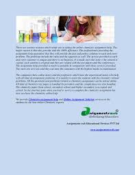get assignment complete chemistry assignment help why chemistry assignments help 2