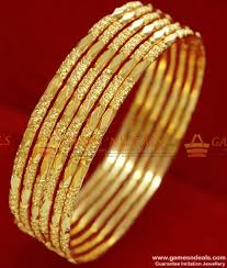 Latest South Indian Bangles Design Br067 2 4 Size Traditional South Indian Gold Plated Imitation