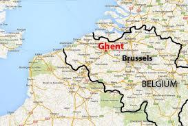 """Résultat de recherche d'images pour """"map ghent"""""""