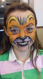 lion face paint by funfacesballoon