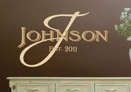 personalized wall art decals