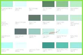 Green Paint Color Chart Clark And Kensington Paint Colors Bostami Co