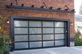 modern garage doorModern Frosted Garage Door  Semper Fidelis Garage Doors