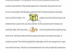 Small Picture Hanukkah Worksheets Free Printables Educationcom