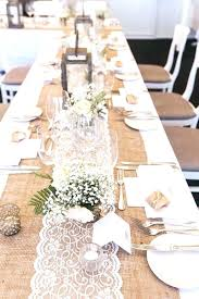 long table runners table runner for round tables burlap table runners for inch round tables a