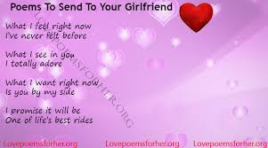 Ever Best Poems To Send To Your Girlfriend Love Poems For Her Adorable Best Love Pictures For Girlfriend