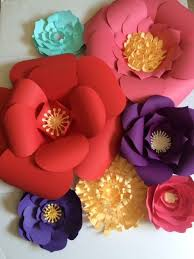 large paper flowers for centerpiece wall decor or photo shoot backdrops by paperflora www paperflora  on paper flower wall art tutorial with large paper flowers for centerpiece wall decor or photo shoot