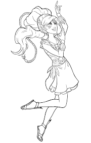 Naida Water Elf Lego Elves Colouring Pages Get Coloring Pages