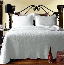 White Bed Quilts – co-nnect.me & All White Bed Comforter White Queen Bed Quilt Covers 100cotton Quilting  Quilt White Bed Cover 3pcs ... Adamdwight.com