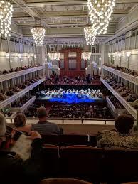 Nashville Symphony Orchestra Seating Chart Photos At Schermerhorn Symphony Center
