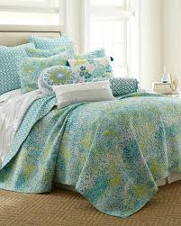 Exclusively Ours - Paint Daub Teal Quilt-Bedding Collections-Nina ... & Exclusively Ours - Paint Daub Teal Quilt Turquoise Adamdwight.com