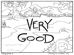 Printable Creation Coloring Pages At Getdrawingscom Free For