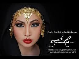 exotic arabic inspired makeup
