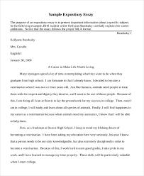 short essay exles sles in pdf