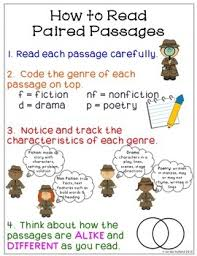 Image result for paired passages anchor chart
