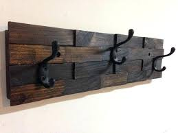 Entryway Wall Mounted Coat Rack Magnificent Coat Rack Wall Rustic Wood Coat Rack Wall Mount With 32 Hooks