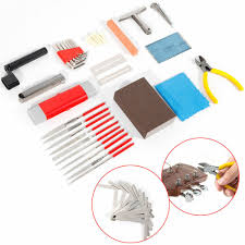 Repairing And Maintenance Details About 45x Luthier Guitar Care Tool Kit Repairing Maintenance Tools String Cutter Usa