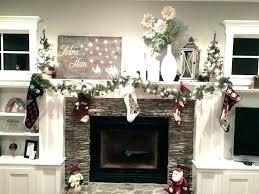 image of stone fireplace mantels decorating ideas