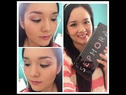 sephora artist color box makeup palette review tutorial