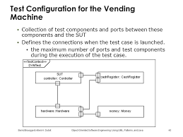 Vending Machine Test Cases Simple Using UML Patterns And Java ObjectOriented Software Engineering