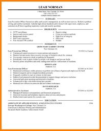 Sample Loss Prevention Cover Letter Petroleum Geologist Resume