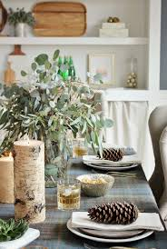 city farmmhouse holiday dining room with home goods