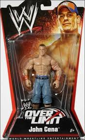 wwe over the limit 2010 john cena by mattel