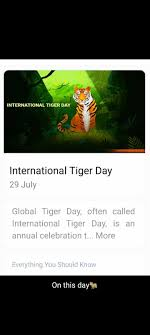 100 Best Images, Videos - 2020 - internatiolal tiger day - WhatsApp Group,  Facebook Group, Telegram Group