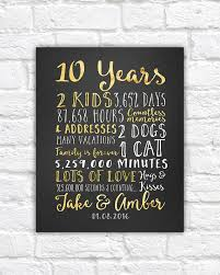 10th anniversary gift ideas for her best 10 year wedding anniversary gift for husband gallery styles