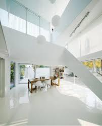 shunyi pure all white two floor house near beijing by remix studio