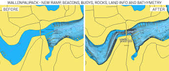 Quemahoning Reservoir Depth Chart Lakes Raystown And Wallenpaupack Updated With More Detail