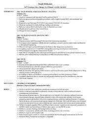 Download EKG Tech Resume Sample as Image file