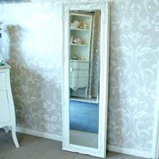 thin floor mirror tall wall mirror thin metal full length mirror