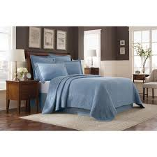 royal heritage home williamsburg abby blue queen bedspread