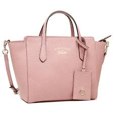 gucci bags pink. gucci bag gucci 368827 cao0g 5806 swing mini leather top handl shoulder soft pink bags pink u