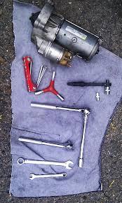 ldv pilot van ldv pilot van fixing the starter motor tools you need