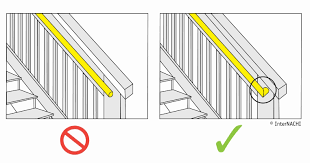 railing height for deck stairs. railing height for deck stairs
