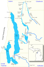 Manistee River Flow Chart Elk River Chain Of Lakes Watershed Wikipedia