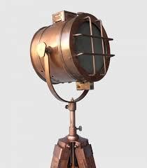 big vintage floor lamp copper finish floor lamp contemporary tripod photography props studio lamps