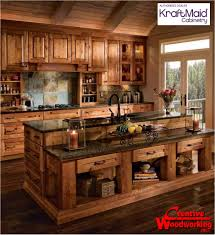 Rustic Beech Cabinets Real Wood Kitchen Cabinets Kitchen Cabinet Solid Wood Kitchen