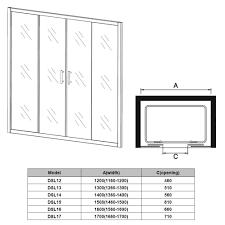 walk in bifold pivot hinge sliding shower enclosures glass door screen cubicles
