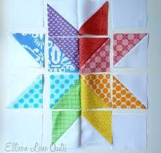 Best 25+ Quilt block patterns ideas on Pinterest | Patchwork ... & Ellison Lane Quilts: Starflower Block Tutorial -- the photo pretty much  shows how to do it. Adamdwight.com