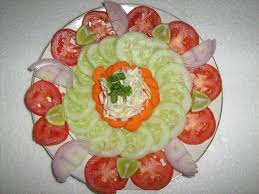 How To Decorate Salad Tray Simple Salad Decoration Ideas Popular Home Design Top With Simple 6