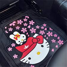 cute car floor mats. Fine Car Girlsu0027 Womenu0027s Fashion Cute Cartoon Hello Kitty Universal Car Floor Mats  For All Model On Cute Car Floor Mats